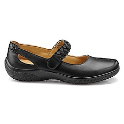Hotter - Black leather 'Shake' Mary Janes