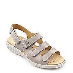Hotter - Tan leather 'Sophia' slingbacks sandals