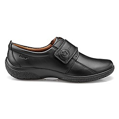 Hotter - Black 'Sugar' touch close shoes