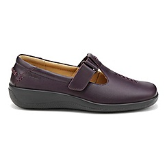 Hotter - Plum 'Sunset' wide fit shoes