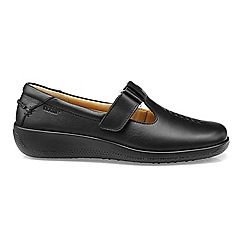 Hotter - Near black leather 'Sunset' shoes