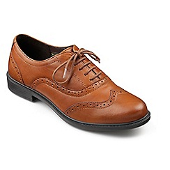 Hotter - Tan leather 'Village' brogues