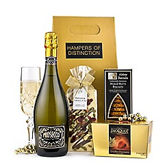 Hampers of Distinction - Prosecco, chocolate and biscuits