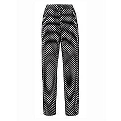 Grace - Black spot trousers