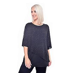 Grace - Black glitter tunic