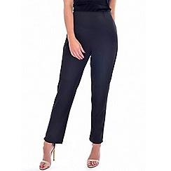 Grace - Black smart petite trousers