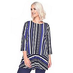 Grace - Blue striped tunic