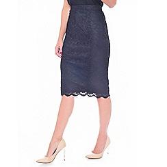 Grace - Black lace skirt