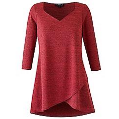 Grace - Berry knit tunic