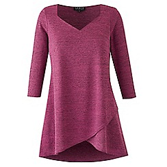 Grace - Mauve knit tunic top