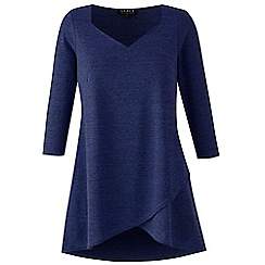 Grace - Navy knit tunic