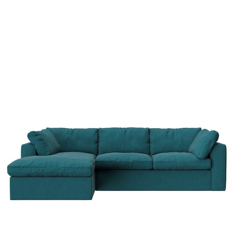 Swoon - Soft Wool 'Seattle' Left-Hand Facing Corner Sofa