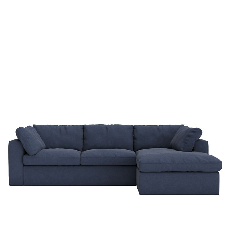 Swoon - Soft Wool 'Seattle' Right-Hand Facing Corner Sofa