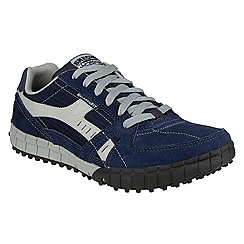 Skechers - Navy / Grey 'Floater' lace up trainer