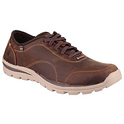 Skechers - Dark brown 'Superior Harvin' shoe