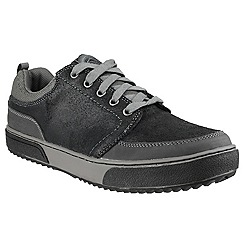 Skechers - Black 'Braize Jaspel' lace up trainer