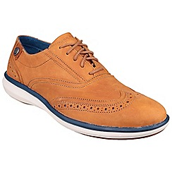 Skechers - Tan 'Whitby' Skechers by Mark Nason sporty casual oxford shoe