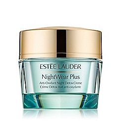 Estée Lauder - 'NightWear Plus' anti oxidant night detox cream 50ml