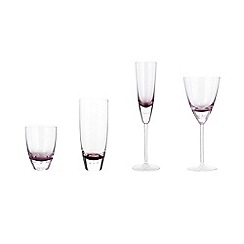 Betty Jackson.Black - Betty Jackson.Black purple 'Bubble' glassware range