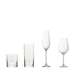 J by Jasper Conran - Designer 'Belgravia' set of four glassware