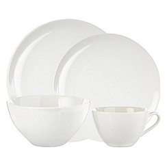 Home Collection Basics - Debenhams white stoneware range