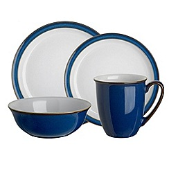 Denby - Denby blue and white 'Imperial blue' range