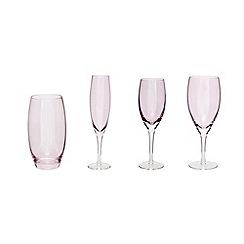Denby - Denby rose 'Lustre' glassware range