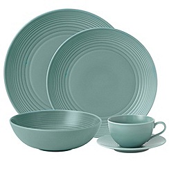 Gordon Ramsay By Royal Doulton - Teal 'Maze' Range