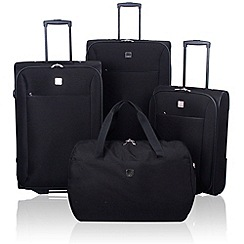 Tripp - Tripp Glide Lite II 4-Wheel Suitcase range in Black