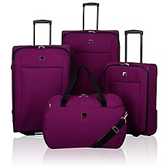 Tripp - Tripp Glide Lite II 2-Wheel Suitcase range in Mulberry