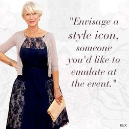Style Advice Mother of the Bride