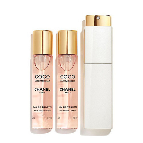 CHANEL - COCO MADEMOISELLE Eau De Toilette Twist And Spray 3 x 20ml