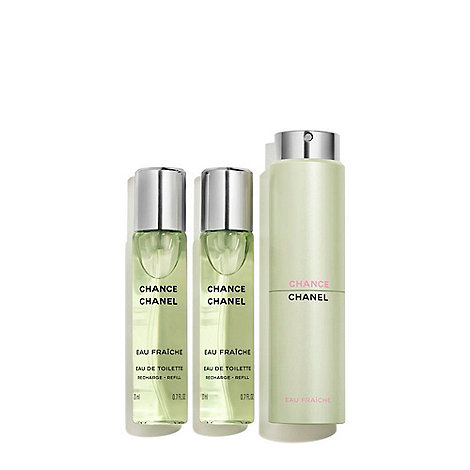 CHANEL - CHANCE EAU FRAÎCHE Eau De Toilette Twist & Spray 3x20ml