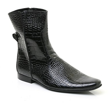 Black X-Dean Ankle Boot