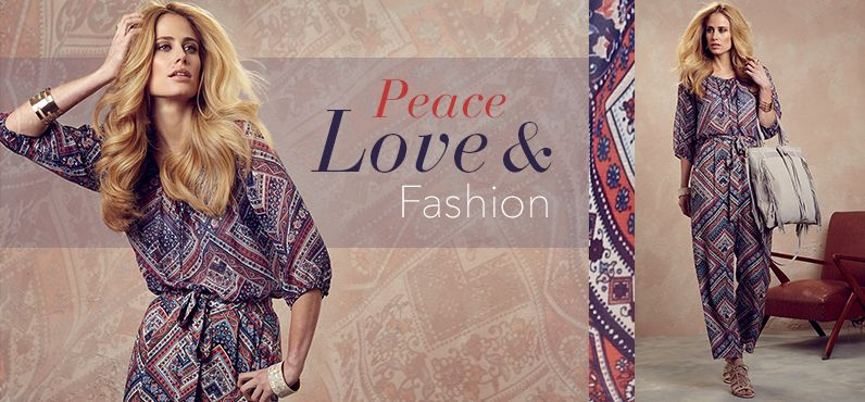 Be Inspired Peace, Love & Fashion