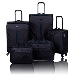 Tripp - Style Lite 4-wheel Suitcase Range in Black