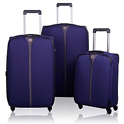 Tripp - Tripp Superlite 4-Wheel Suitcase range in Indigo