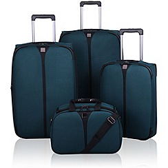 Tripp - Tripp Superlite III 2-Wheel Suitcase range in Racing Green