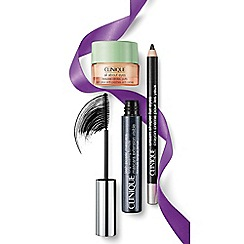 Clinique - Power Up the Drama Christmas gift set  - Worth £41