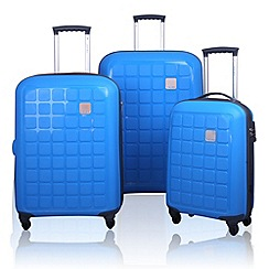 Tripp - Tripp Holiday 4 4-Wheel Suitcase range in Azure