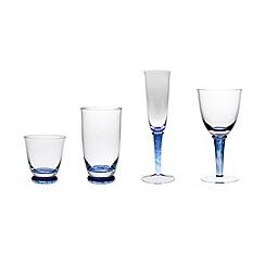 Denby - Denby 'Imperial Blue' glassware range