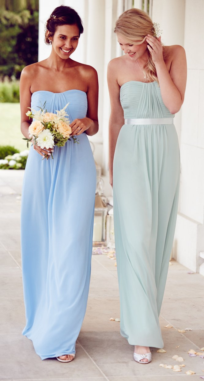 Bridesmaids perfect in pastels debenhams bridesmaid dresses in soft sorbet shades to make your wedding day that little bit sweeter ombrellifo Image collections