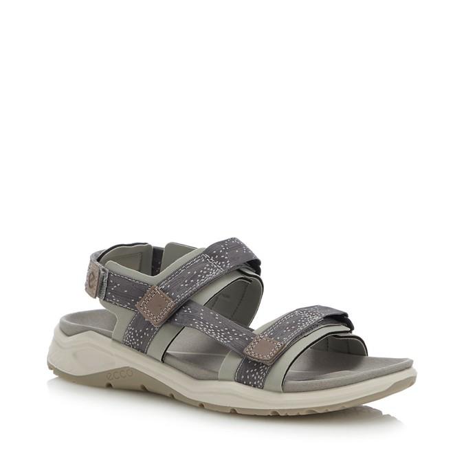 8ee511083cf69b Ecco - Grey   X - Trinsic  Sandals
