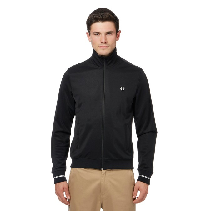 Fred Perry - Black track jacket c7d1e315e