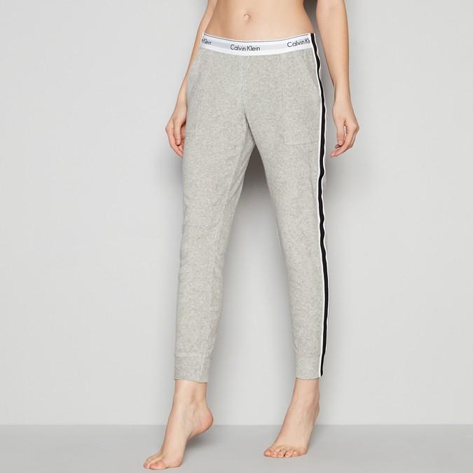 ea9cdfa22986 Calvin Klein Underwear Grey Sports Stripe Logo Waistband Joggers ...