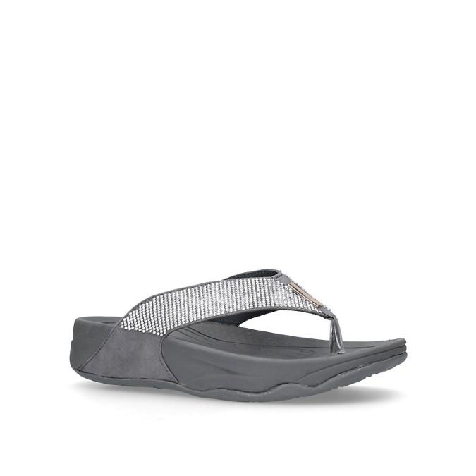 5e90c7331 Carvela Comfort - Pewter  Sin  flip flops