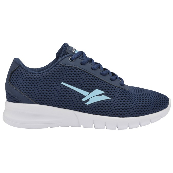 904fa0049ff0 Gola Sport - Navy and blue  Beta 2  ladies lace up trainers