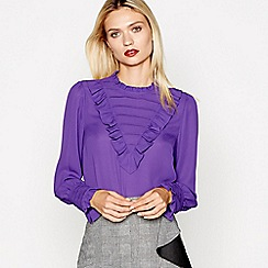 Studio by Preen - Purple long sleeves frill top
