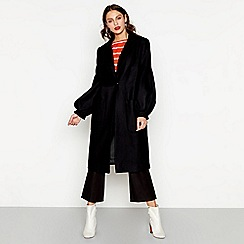 Studio by Preen - Black wool blend coat