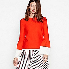 Studio by Preen - Red bell sleeves knit jumper